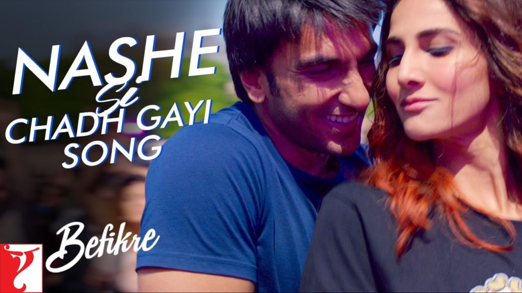 Nashe Si Chadh Gayi Oye Song On Befikre Movie Lyrics