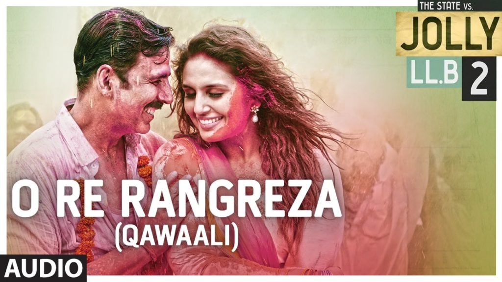 O Re Rangreza Lyrics – Jolly LLB 2 | Sukhwinder Singh | ओ रे रंगरेज़ा