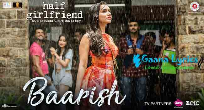 Baarish Song Lyrics in hindi