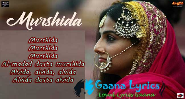 Murshida Song Lyrics in hindi