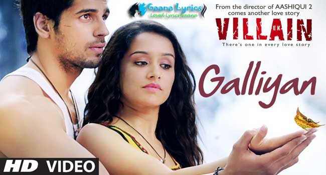 Teri Galiyan Song Lyrics in Hindi